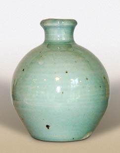Green Corser vase