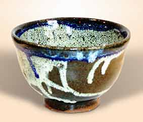 Decorated Corser bowl