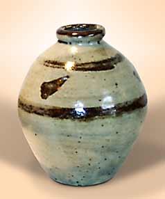 Banded Corser vase