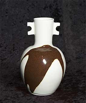 Alan Brough porcelain vase