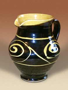 Penderleath slip decorated jug