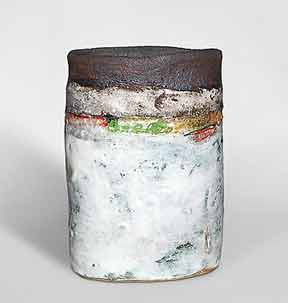 Cylindrical Robin Welch vase