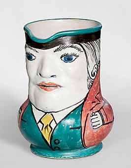 Honiton character jug