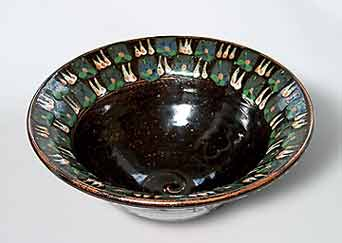 Melville decorated bowl