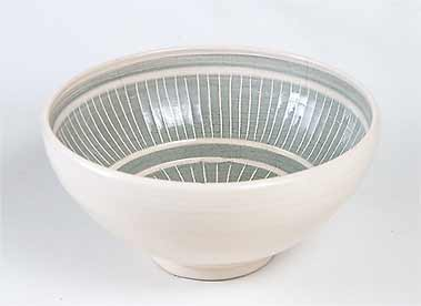 Slip decorated  Leaper bowl