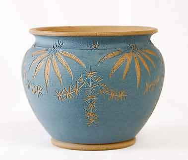 Blue Langley pot