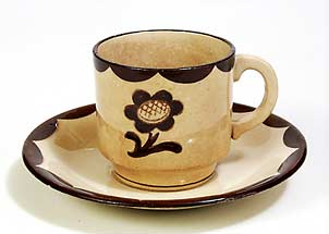 Gustavsberg cup and saucer