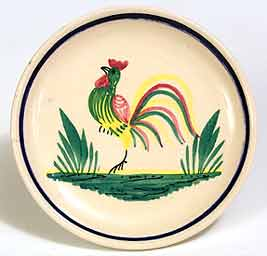 Quimper cock dish
