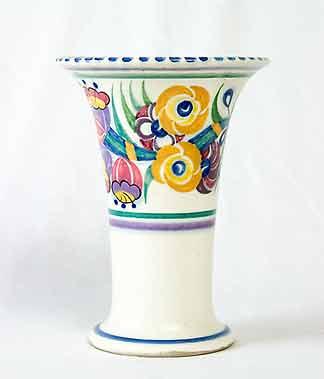 Old Poole vase