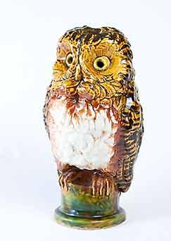 Huge Chelsea slip-cast owl