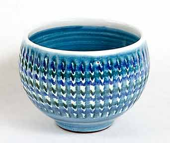 Blue Hastings bowl