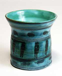 Blue/green Sharp pot