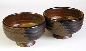 Large Hurn tea bowls