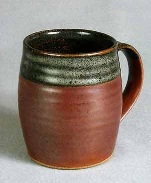 John Leach barrel mug