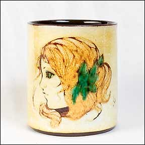 Chelsea mug with girl portrait