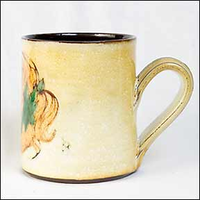 Chelsea mug with girl portrait (side)
