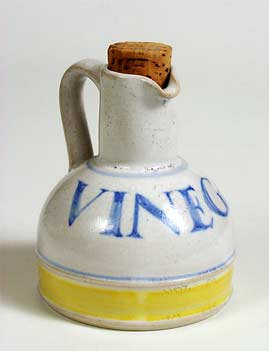 Mills vinegar bottle