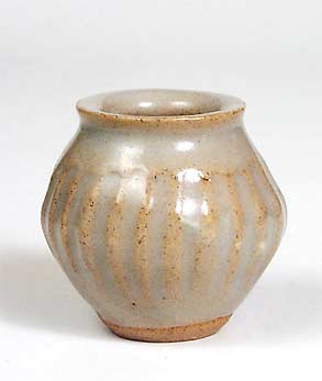 Fluted Pleydell-Bouverie pot