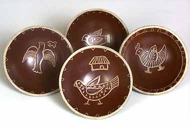 Arabia bird dishes