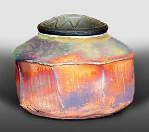 John Wheeldon lidded pot