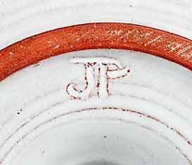Jill Pryke candlestick (mark)