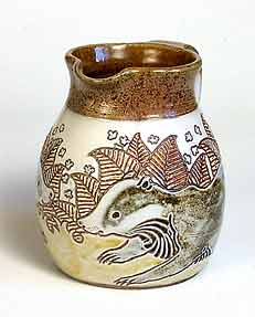 Mosse badger jug