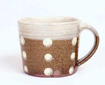 Motoko mug with spots