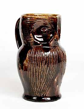 Farnham owl jug