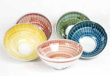 Caiger-Smith Repeat Ware bowls