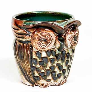 Marc owl pot