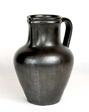 Large black Dicker jug