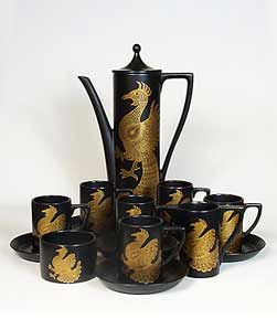 Phoenix coffee set