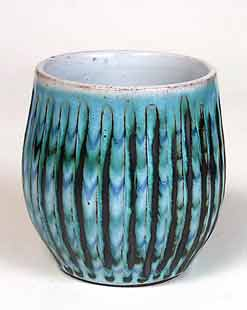 Fluted Hastings pot