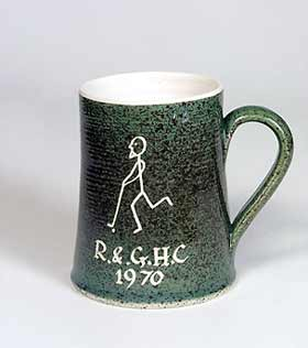 Rainham hockey mug