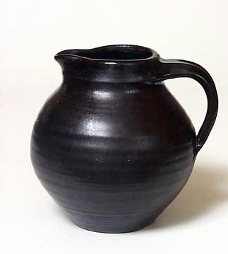 Dark brown jug
