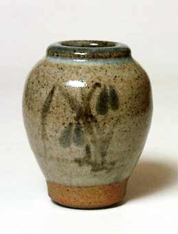 Small decorated vase
