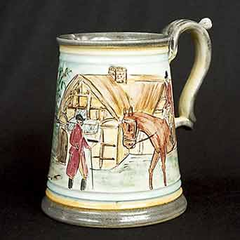 Glyn Colledge hunting tankard