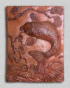 Adrian Brough fish tile
