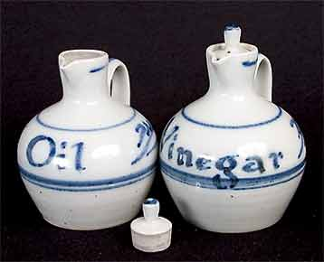 Crowan oil and vinegar bottles