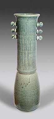 Tall St Agnes vase