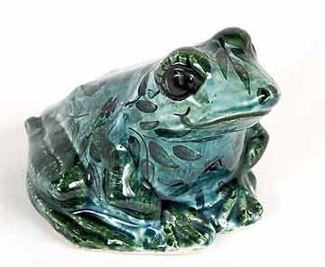 Green Chelsea frog