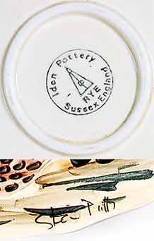 Iden Turkey platter (marks)
