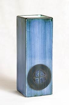 Blue Troika vase