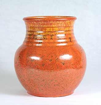 Orange Candy vase