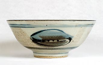 Decorated Crowan bowl