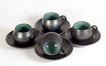 Lake's cups and saucers