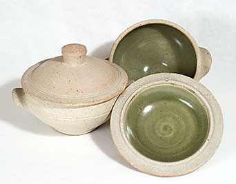 Two Leach standard ware bowls