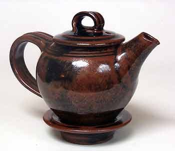 Nic Harrison teapot and stand