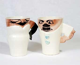 Bonassera his and hers mugs