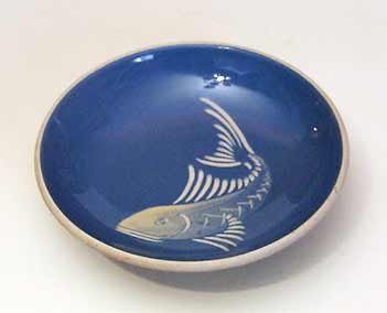 Lamorna fish dish